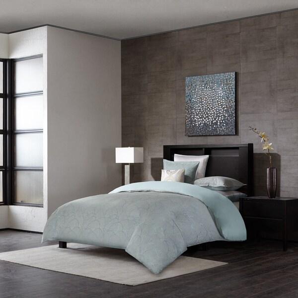 Delicieux Metropolitan Home Laval Seafoam 3 Piece Comforter Set