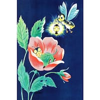 Marmont Hill 'Sleeping Bug' by Curtis Painting Print on Canvas - Multi-color