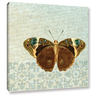 Gail Fraser 'Le Papillon Pattern 3' Gallery Wrapped Canvas