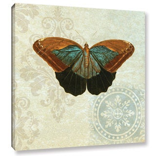 Gail Fraser 'Le Papillon Pattern 4' Gallery Wrapped Canvas