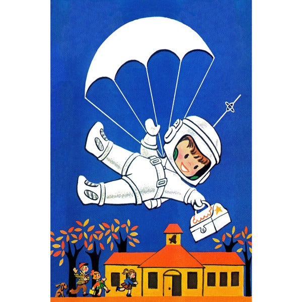 Marmont Hill 'Astro Boy' by Curtis Painting Print on Canvas