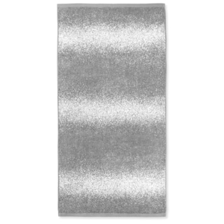 Charcoal Ombre Jacquard Bath Towel (Set of 2)
