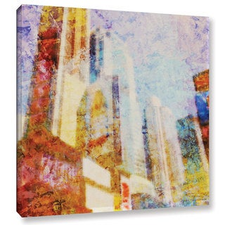 Joost Hogervorst 'City Collage - New York 1' Gallery Wrapped Canvas