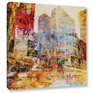 Joost Hogervorst 'City Collage - New York 2' Gallery Wrapped Canvas