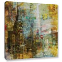 Joost Hogervorst 'City Collage - New York 4' Gallery Wrapped Canvas