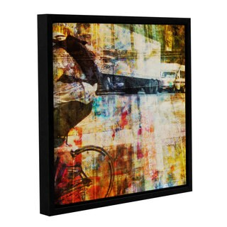 Joost Hogervorst 'City Collage - New York 6' Gallery Wrapped Floater-framed Canvas