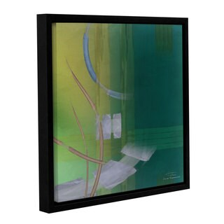 Joost Hogervorst 'Abstract 03 I' Gallery Wrapped Floater-framed Canvas