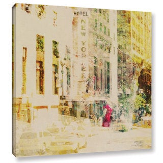 Joost Hogervorst 'City Collage - New York 8' Gallery Wrapped Canvas
