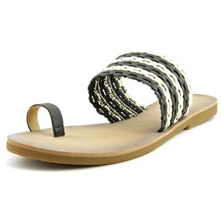 Lucky Brand Women's 'Baheeti' Black Synthetic Sandals