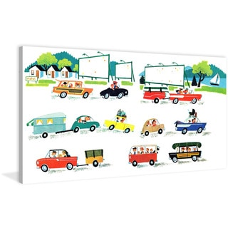 Marmont Hill 'Cars' by Curtis Painting Print on Canvas