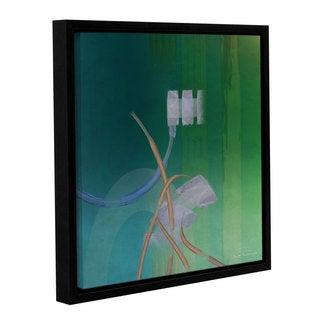 Joost Hogervorst 'Abstract 03 II' Gallery Wrapped Floater-framed Canvas