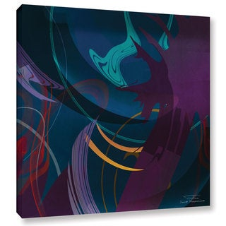 Joost Hogervorst 'Abstract Twirl 01 ' Gallery Wrapped Canvas - Multi