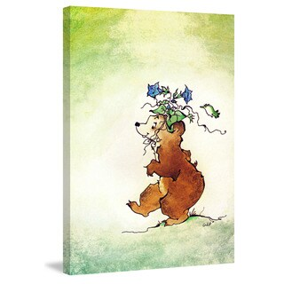 Marmont Hill 'Bear' by Curtis Painting Print on Canvas - Multi-color (5 options available)