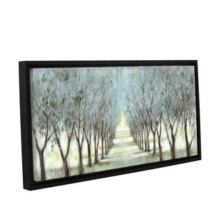 Art Marketing Ltd 'The Olive Grove' Gallery Wrapped Floater-framed Canvas