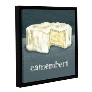 Art Marketing Ltd 'Camembert' Gallery Wrapped Floater-framed Canvas