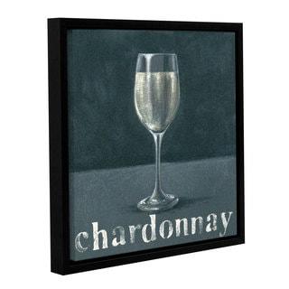 Art Marketing Ltd 'Chardonnay' Gallery Wrapped Floater-framed Canvas