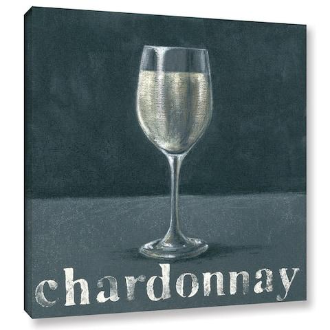 Art Marketing Ltd 'Chardonnay' Gallery Wrapped Canvas - Multi
