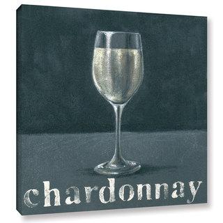 Art Marketing Ltd 'Chardonnay' Gallery Wrapped Canvas