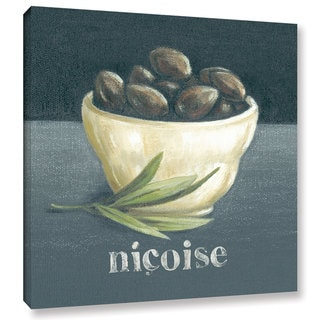 Art Marketing Ltd 'Nicoise' Gallery Wrapped Canvas
