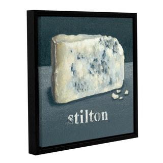 Art Marketing Ltd 'Stilton' Gallery Wrapped Floater-framed Canvas