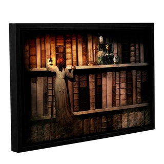 Aimee Stewart 'Treasure Hunt' Gallery Wrapped Floater-framed Canvas