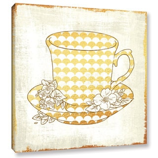 Cleonique Hilsaca 'Darjeeling White Tea' Gallery Wrapped Canvas