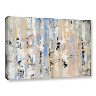 Dusty Knight 'White Forest II' Gallery Wrapped Canvas