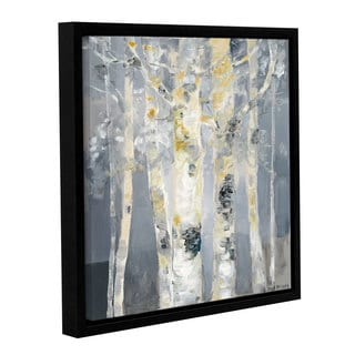 Dusty Knight 'Forest at Dusk' Gallery Wrapped Floater-framed Canvas