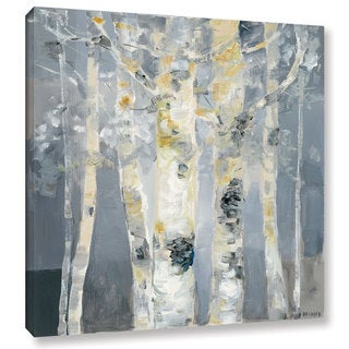 Dusty Knight 'Forest at Dusk' Gallery Wrapped Canvas