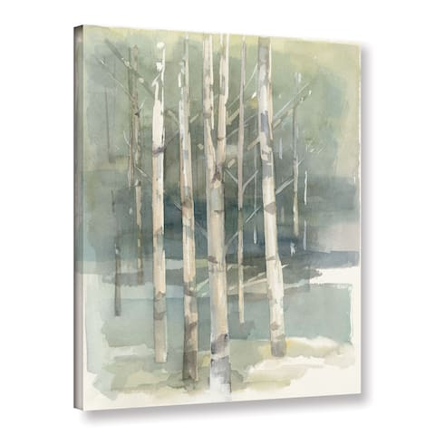 The Gray Barn Hummingbird Haven Avery Tillmon 'Birch grove I' Gallery Wrapped Canvas