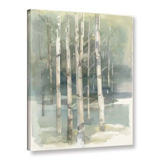 Avery Tillmon 'Birch grove I' Gallery Wrapped Canvas