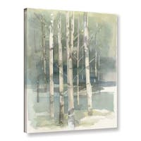 Pine Canopy Kaniksu Avery Tillmon 'Birch grove I' Gallery Wrapped Canvas