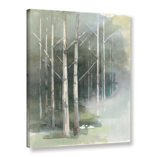Avery Tillmon 'Birch grove II' Gallery Wrapped Canvas