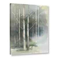 Avery Tillmon 'Birch grove II' Gallery Wrapped Canvas