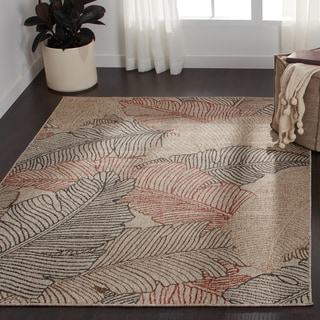 Indoor/ Outdoor Hudson Multi Rug (7'10 x 10'9)