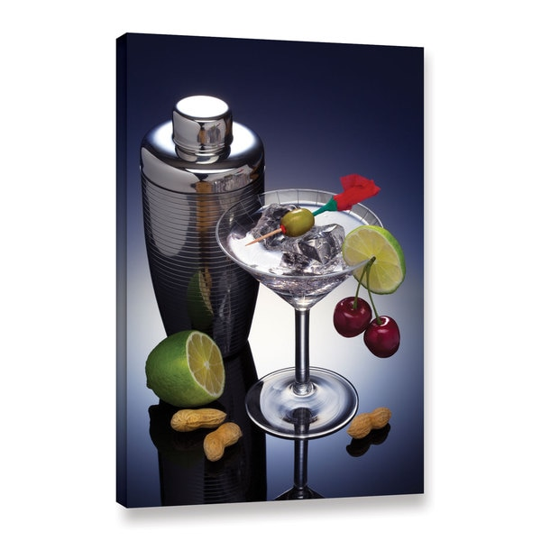 Simon Kayne 'Dry Martini' Gallery Wrapped Canvas