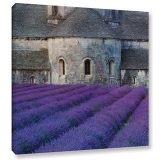 Simon Kayne 'Lavander Church (Variant 1)' Gallery Wrapped Canvas