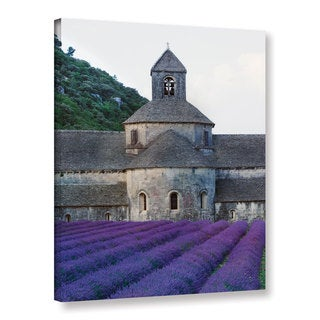 Simon Kayne 'Lavander Church ' Gallery Wrapped Canvas