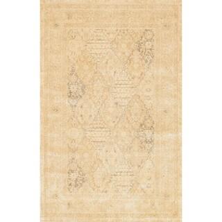 Francis Light Gold Rug (5'0 x 7'6)