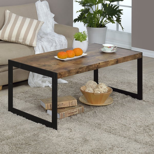 Industrial Renaissance Outdoor Coffee Table: Shop Millenial Collection Industrial Finish Coffee Table