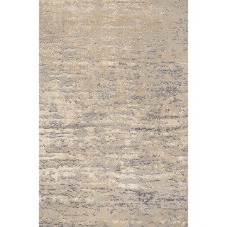 Microfiber Woven Stark Stone Rug (9'3 X 13'0)