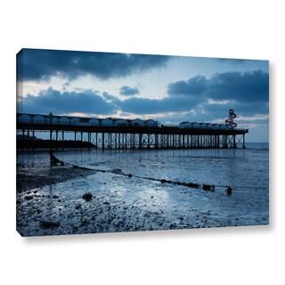 Simon Kayne 'Pier' Gallery Wrapped Canvas