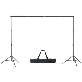 Square Perfect Premium Photo Backdrop Stand For Muslin & Scenic Backgrounds