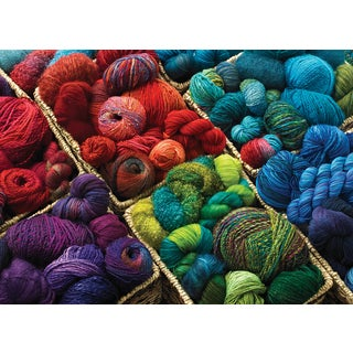 Cobble Hill: Plenty of Yarn 1000 Piece Jigsaw Puzzle