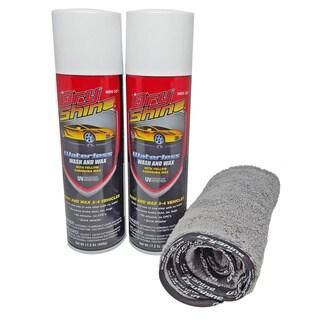 Dry Shine Waterless Car Wash & Wax Kit