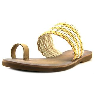 Lucky Brand Women's 'Baheeti' Tan Synthetic Sandals