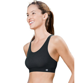 Champion Mesh Freedom Racerback Sports Bra with SmoothTec Band
