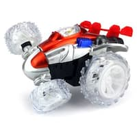 Velocity Toys Stunt Rocket Remote Control RC Stunt Rolling Car RTR (Colors May Vary)