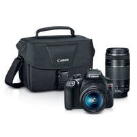 Canon T6 18-55 and 75-300 Bundle