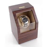 Heiden Walnut Battery Powered Single Watch Winder